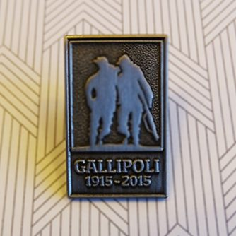 gallipoli battle pin